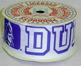 "Duke University Grograin Ribbon*10 Yards* 1 1/2"" Wide"