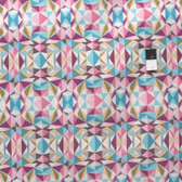 Joel Dewberry PWJD139 Modernist Prismatic Pink Cotton Quilting Fabric By Yard