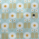 Joel Dewberry SAJD036 Wander Prairie Bloom Maize Cotton HOME DECOR Sateen Fabric