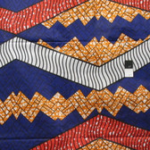African Tribal Multi-Color Print T-5017 Polished Cotton Fabric By The Yard