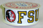 "Florida State U. Grosgrain Ribbon 7/8"" Wide By The Yard"