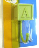 085-03-0614 Green Baby Block Coat Hat Robe Hook