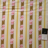 Jennifer Paganelli JP37 Poodle Siobahn Yellow Fabric By The Yard