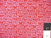 Kaffe Fassett GP73 Clover Red Cotton Fabric By The Yd