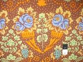 Kaffe Fassett GP79 Stencil Brown Cotton Fabric By Yd