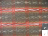 LeRouvray Encore Plaid Burgundy Fabric By Yard