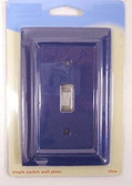 085-03-3927 Navy Architect Single Switch Cover Plate