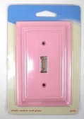085-03-3911 Pink Architect Single Switch Cover Plate