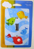 085-03-3437 Sea Splash Single Switch Cover Plate