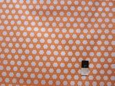 Annette Tatum AT61 Bohemian Clover Orange Fabric By The Yard