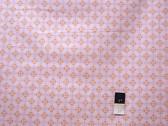 Annette Tatum AT60 Bohemian Checkers Pink Fabric 1 1/2 Yard
