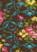 Jennifer Paganelli PWJP050 West Indies Velentina Cocoa Fabric By Yard