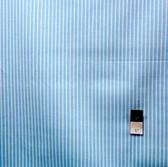 Dena Designs LIDF006 Sunshine Stripe Aqua Linen Fabric By Yard