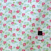 Tanya Whelan FATW001 Sugar Hill Scattered Roses Ivory Flannel Fabric By Yd