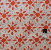 Tina Givens PWTG108 Lilliput Fields Tulip Orange Fabric By The Yard