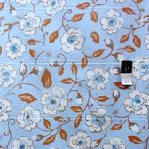 Dena Designs PWDF123 London Canterbury Blue Fabric By Yard