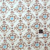 Dena Designs PWDF114 London Cotswold Blue Fabric By Yard