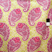 Joel Dewberry VJD04 Voile Heirloom Paisley Amethyst Fabric By Yard