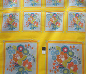 Anna Maria Horner VAH08 Little Folks Square Dance Citrus VOILE By Panel