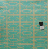Tina Givens VTG02 Haven's Edge VOILE Waiss Turquoise Fabric By The Yard