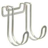 141779 Over The Cabinet Hook Coat Hat Hook Rail Satin Nickel