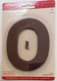 "BH3080-OB 5"" House Number Oil Rubbed Bronze ""0"""