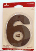 "BH3086-OB 5"" House Number Oil Rubbed Bronze ""6"""