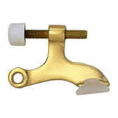 B40650-PL Solid Brass Hinge Pin Door Stop