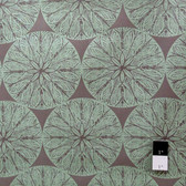 Victoria and Albert PWVA013 Garthwaite Medallion Neutral Fabric By Yard