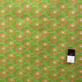 Victoria and Albert PWVA011 Garthwaite Scallop Pink Fabric By Yard