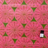 Victoria and Albert PWVA013 Garthwaite Medallion Pink Fabric By Yard