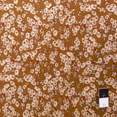 Victoria and Albert PWVA006 Benedictus Tree Buds Brown Fabric By Yard