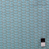 Dan Bennett PWDB0012 Premier Lord Fan Teal Fabric By The Yard
