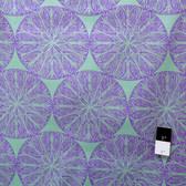 Victoria and Albert PWVA013 Garthwaite Medallion Purple Fabric By Yard