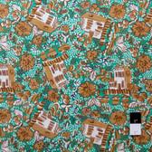 Melissa White PWMW013 Misaki House & Garden Slavic Fabric By Yard