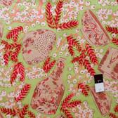 Melissa White PWMW006 Misaki Delft & Mimosa Baltic Fabric By Yard