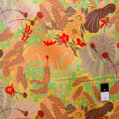 Melissa White PWMW011 Misaki Lotus & Berries Eido Fabric By Yard