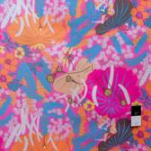 Melissa White PWMW011 Misaki Lotus & Berries Jaipur Fabric By Yard