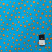 Valori Wells FVW19 Della Stones Tangerine Flannel Fabric By Yd