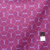 Joel Dewberry JD54 Heirloom Empire Weave Garnet Cotton Fabric By Yd