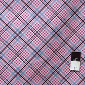 Denyse Schmidt PWDS042 Shelburne Falls Complex Plaid Lilac Cotton Fabric 1 7/8 Yard