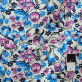 Denyse Schmidt PWDS039 Shelburne Falls Dress Floral Lilac Cotton Fabric By Yard