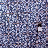 Valori Wells PWVW051 Novella Hear De Flur Indigo Cotton Fabric By The Yard