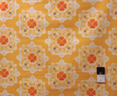 Ty Pennington PWTY016 Fall Impressions Delhi Yellow Cotton Fabric By The Yard