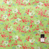 Tanya Whelan PWTW047 Sugar Hill Birdy Green Fabric By Yd