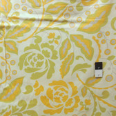 Dena Designs PWDF106 Taza Cynthia Yellow Fabric By Yard