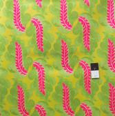 Victoria and Albert PWVA014 Garthwaite Leaf Pink Fabric By Yard