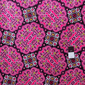 Mark Cesarik PWMC021 Cosmic Burst Gamma Ray Pink Fabric By The Yard