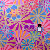 Kaffe Fassett GP115 Radiation Lavender Cotton Fabric By Yd