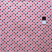 Denyse Schmidt PWDS021 Flea Market Fancy Flower & Dot Red Fabric By Yard